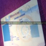 Missouri fake id template hologram design is an identical clone vs real Missouri id card