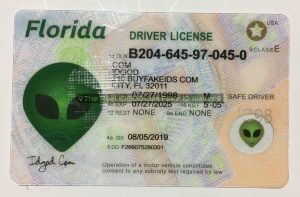 Florida fake id made by IDGod.