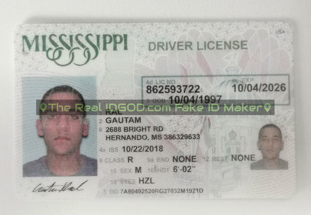Mississippi Fake ID