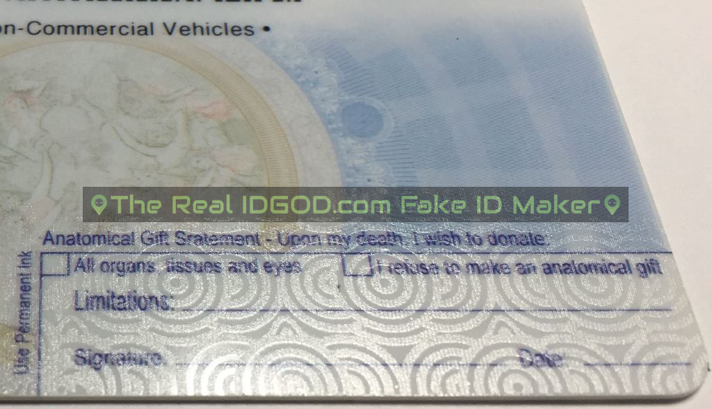 Wisconsin fake id card holograms