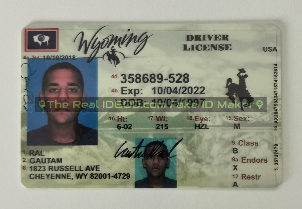 Wyoming Fake ID